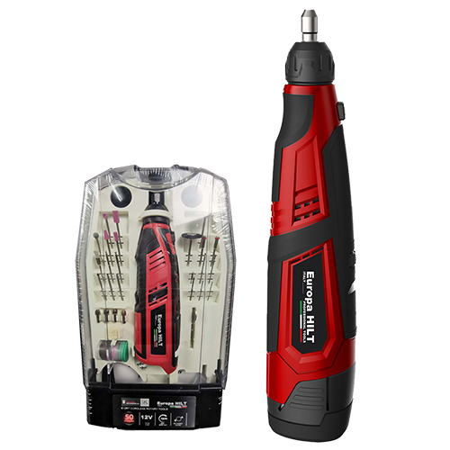 E12RT Cordless Rotary Tool With Accessories 12V